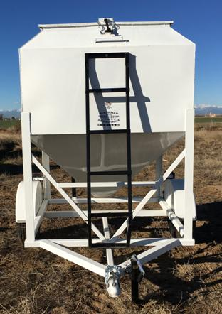 Portable Grain Bins on Wheels