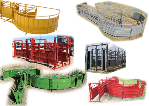 Titan West, OK Corral, Portable OK Corral,  Portable Cattle Corrals