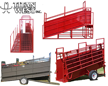 Portable & Stationary Loading Chutes by Titan West