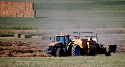 Custom Baling Grass, Alfalfa, & Cornstalks in Colorado