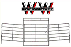 WW Chaparral Panel Round Pens For Horses