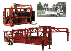 Daniels Hydraulic Cattle Chute