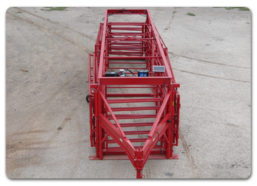 Diamond W Portable Sorting System For Cattle
