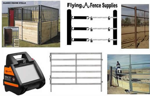 Livestock Panels for Horses and Cattle Round Pens, Stalls, & Fencing