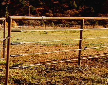 Galvanized Cable Fencing For Cattle and Horses