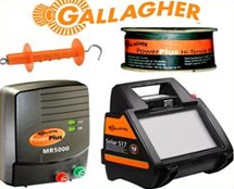 Gallagher Power Fence Energizers and Components