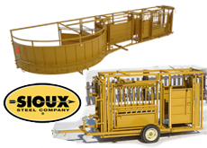 Sioux Livestock Equipment, Cattle Chutes & Working Systems, The best on the Market, Straight Sided Chute, Great Prices