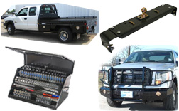 Ranch Hand, Truck Accessories, Bumpers, Grill Guards, Flat Beds, Montezuma Toolboxes, Drop and Lock Hitches