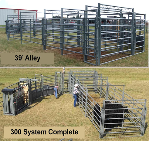 ... WW 300 Working System with Chute for Cattle Handling Equipment