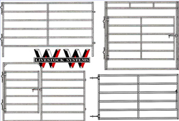 WW Manufacturing Chaparral Panels for Horses