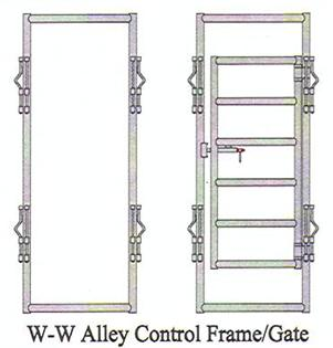ww classic alley control frames and gates