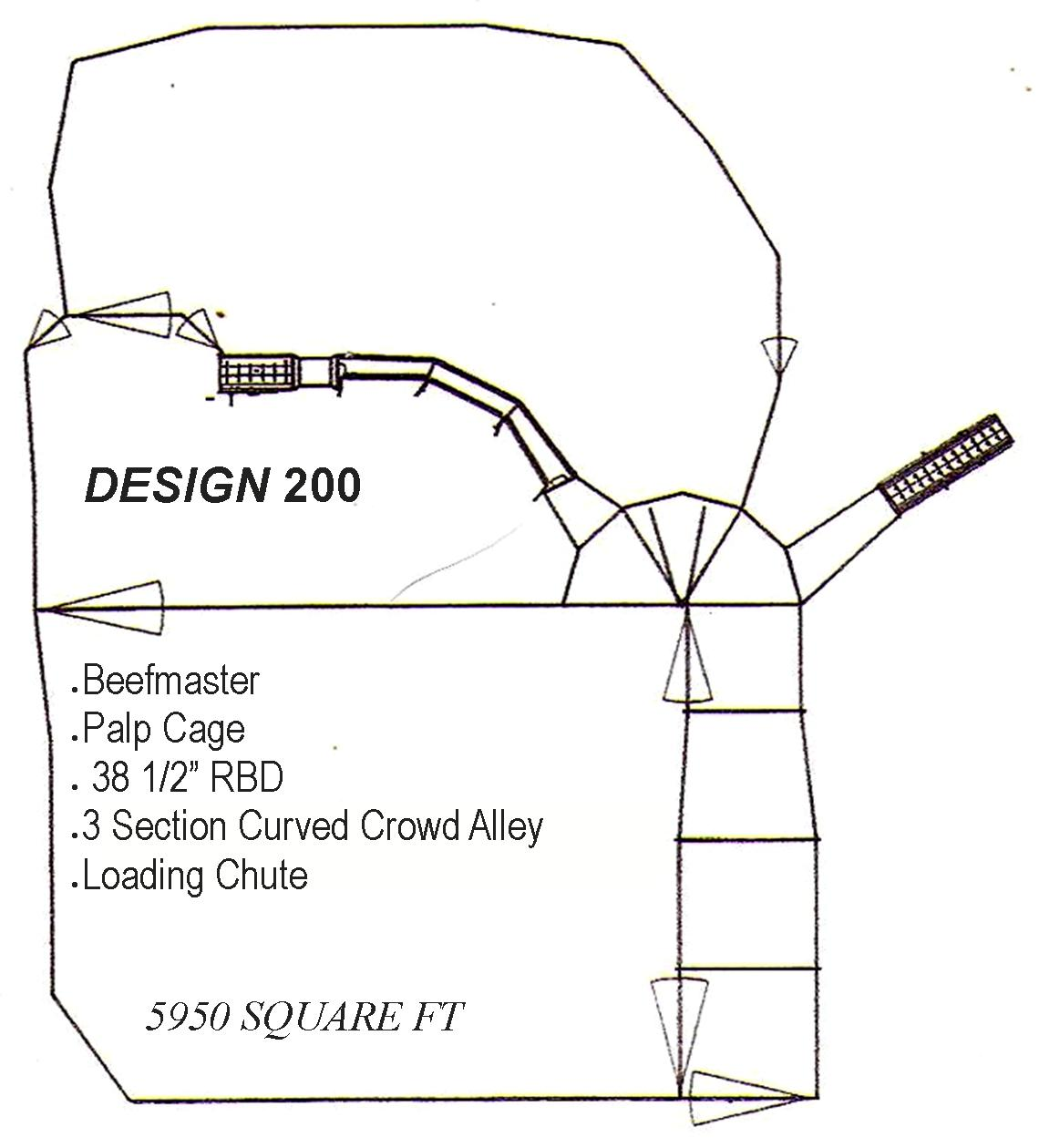 WW Livestock Sytems Corrals For Cattle Design 200