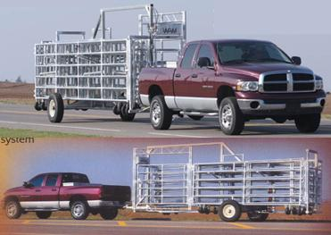 WW Express Portable Cattle Corral