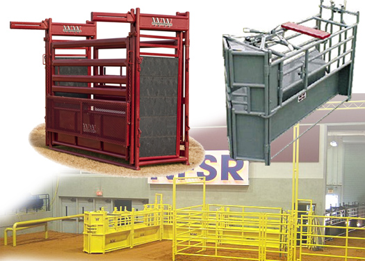 WW Mfg. Rodeo Arenas and Equipment, Roping Arenas, Bucking Chutes, Roping Chutes, Chute