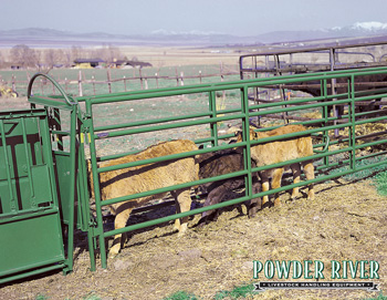 Powder River Value Chute Trailer
