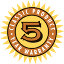 Powder River 5 Year Warranty Logo