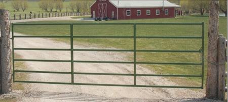 "Powder River 1600 Tube Corral Gates 52"" - 6 Rails"
