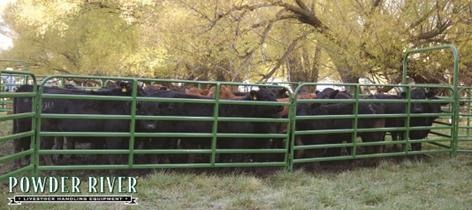 "Powder River Classic 64"" 6 Bars ~ Panels"