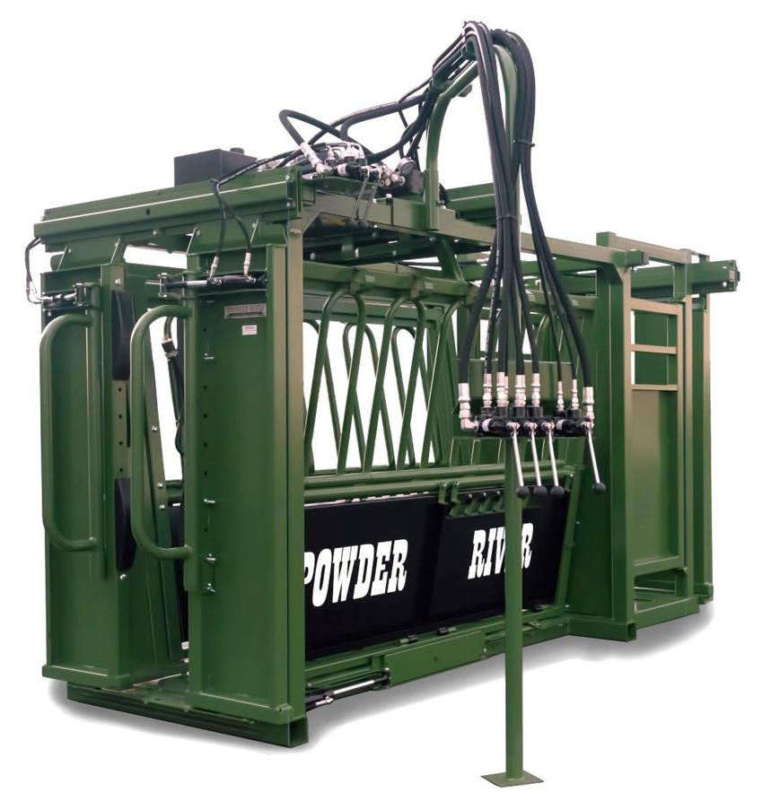 Powder River Rancher XL Auto Chute with Stabilizer