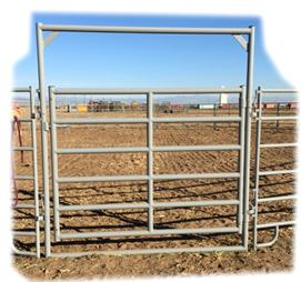 Heavy Duty ~ High Pole Gate