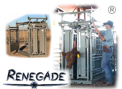 Renegade Manual Cattle Chutes