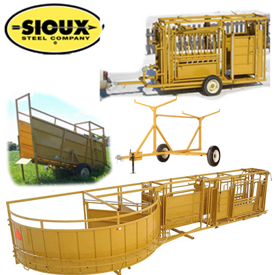 Sioux Portable Tub & Chute Systems