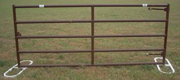 Sioux Steel Victory Corral Gates, Covered Under Lifetime Guarantee for Cattle & Horses