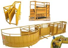 WW Custom Cattle Corral Facilities, Complete Working Systems for Cattle