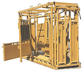 Sioux Steel Cattle Working Chute