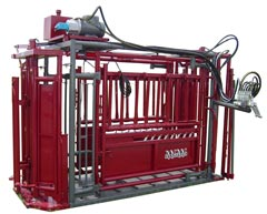 WW Hydraulic Cattle Chutes, Heavy Duty Cattle Equipment, Ranchmaster Hydraulic Chute, SuperPro Commercial Hyd Chute