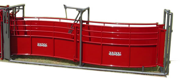 Stampede Steel Adjustable Alley for Cattle by WW Manufacturing