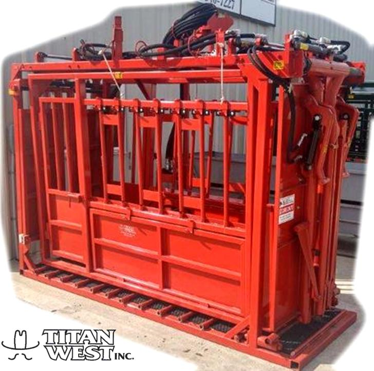 Titan Hydrualic Cattle Care Chute