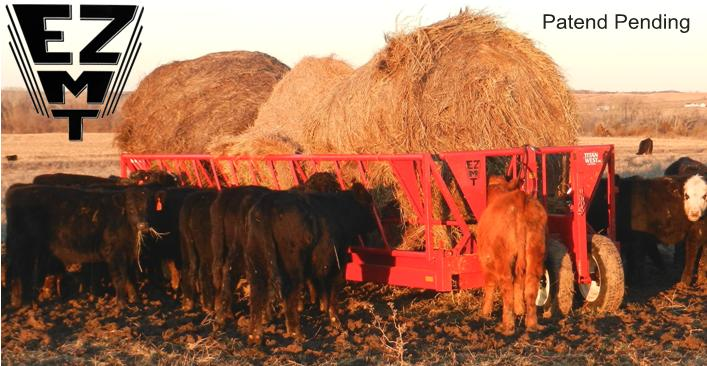 Titan West Portable EZMT, Hay Wagon Feeders and Bextra West