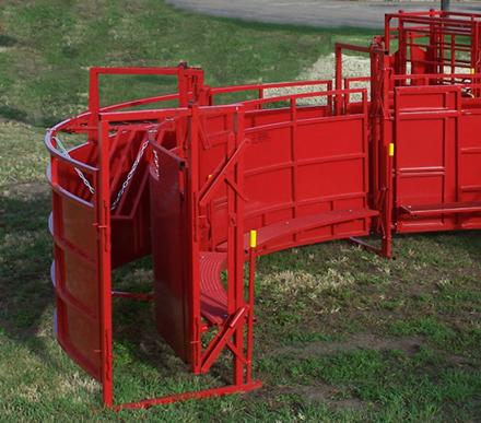 Titan Portable Twin Alley for Cattle