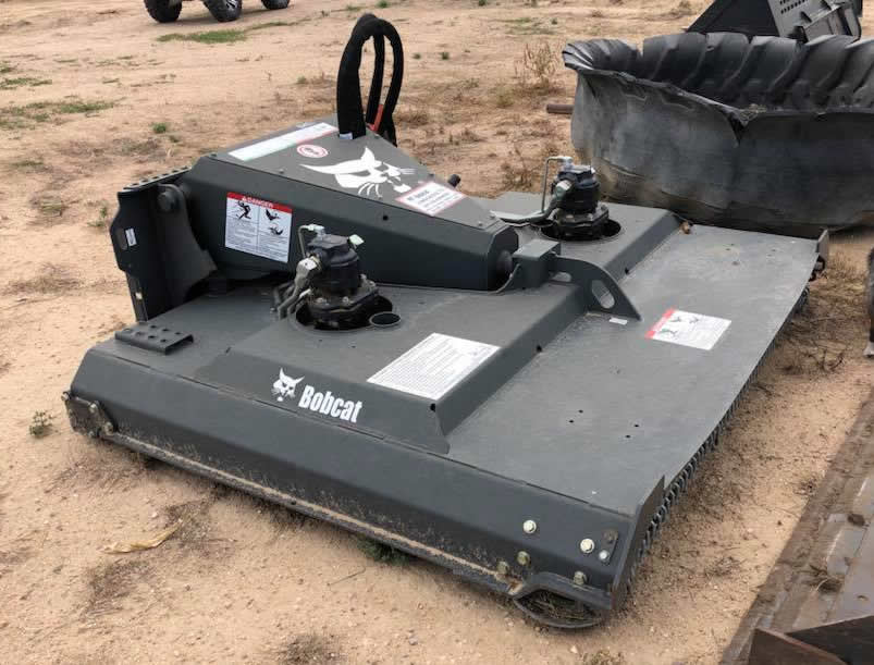 2016 Used Bobcat Skidsteer Brush Cat Mower Attachment
