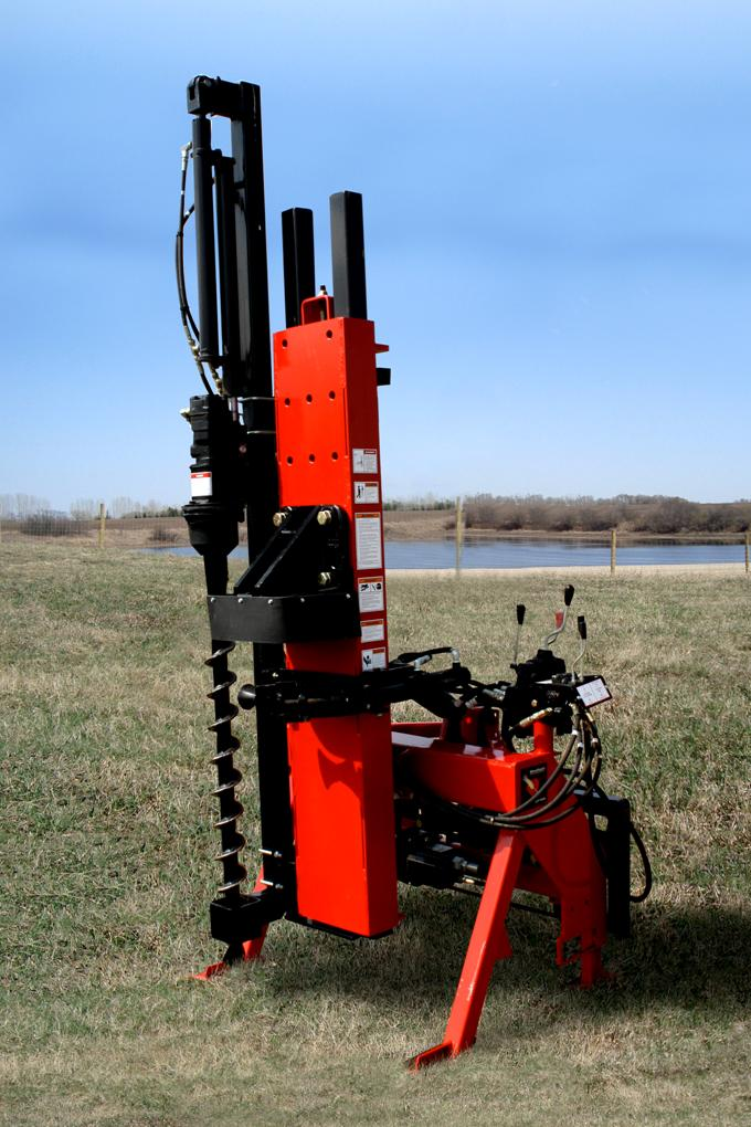 WheatHeart Skid Steer Center Mast