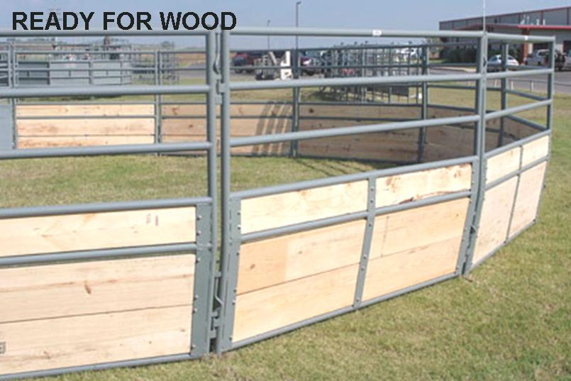 WW Chaparal Tapered Horse Round Pens